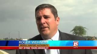 Byrne Impressed by Brookley Progress