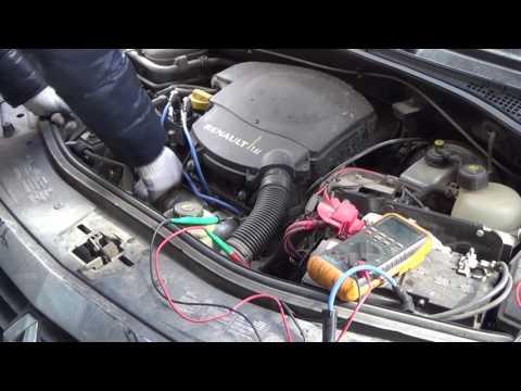 видео: Рено Логан.Троит двигатель,меняю провода вв и синие лампы