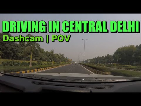 Driving in Delhi | Central Delhi Driving POV