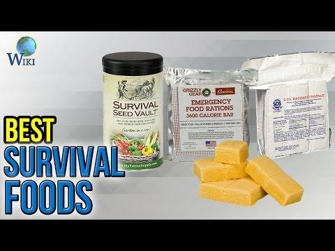 9 Best Survival Foods 2017