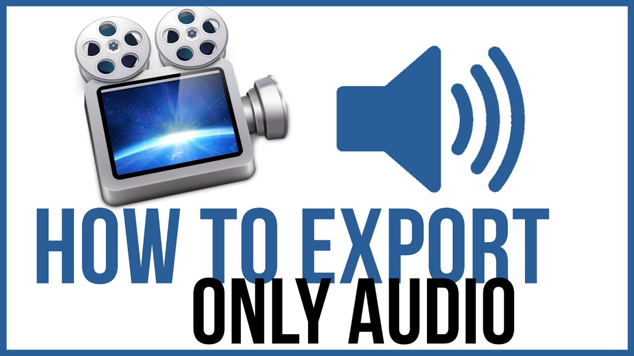 How To Export JUST THE AUDIO from Screenflow - Screenflow Tutorial ...