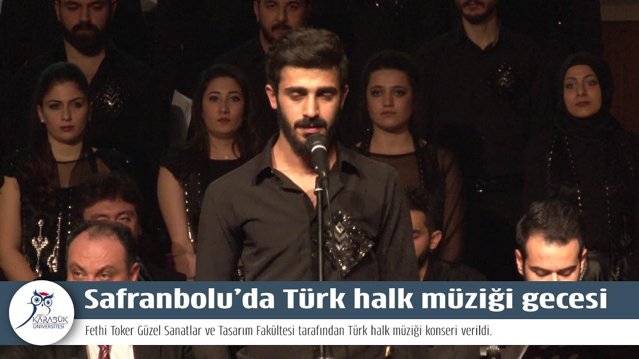Safranbolu'da Türk halk müziği gecesi
