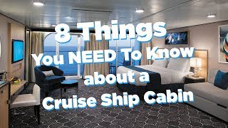 8 things you need to know about a Royal Caribbean cabin