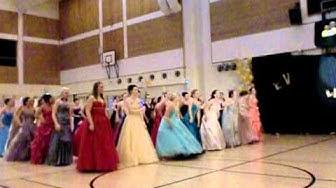 Mäntsälän lukion Wanhat - oma tanssi 2012