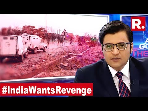 India Wants Revenge For This, Kill Terrorists And Shut Afzal Group | The Debate With Arnab Goswami