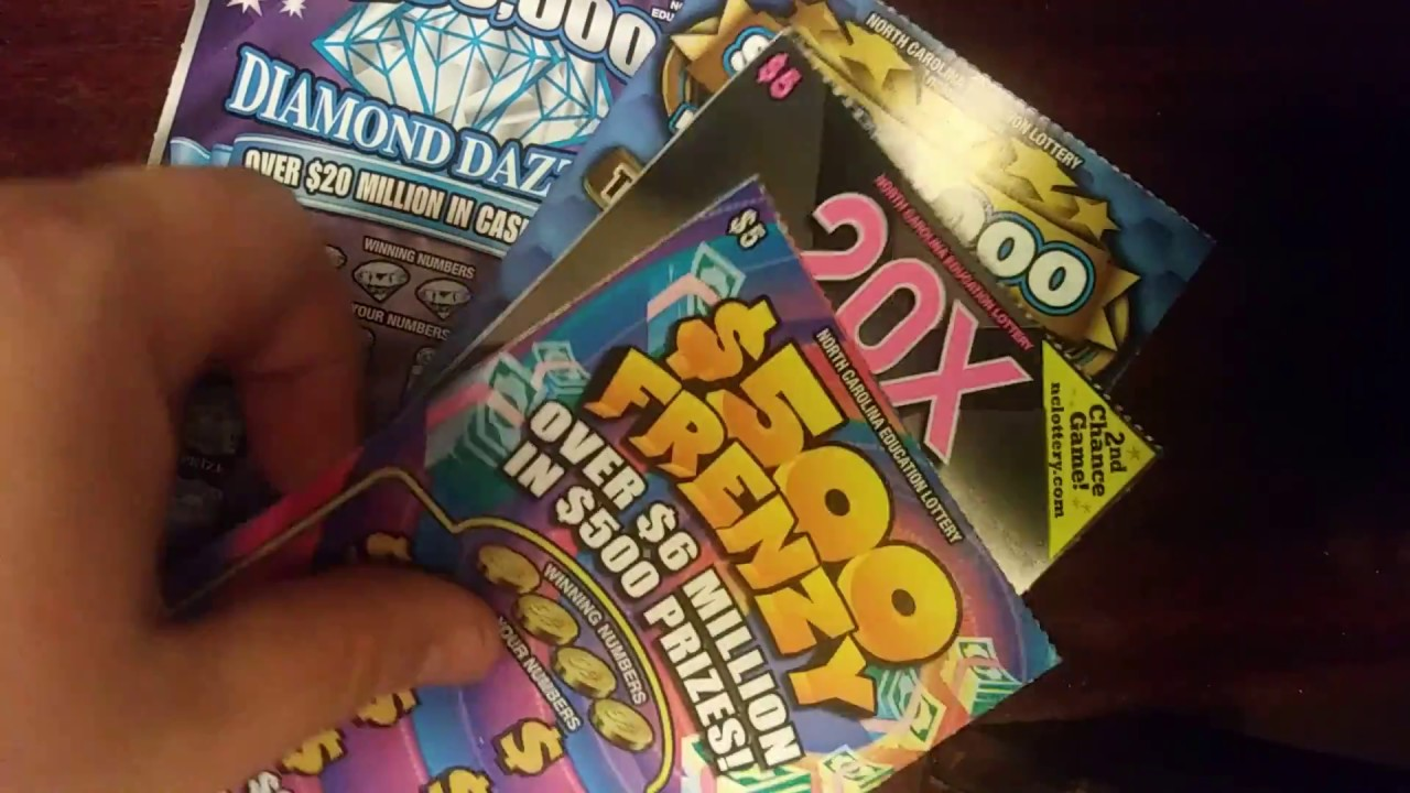 Can I get a win on these $5 North Carolina scratch offs?