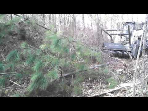 Terex PT110 Forestry Mulcher From Mechanicsville VA