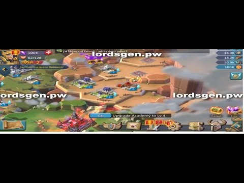 Lords Mobile Hack - Lords Mobile Hack Gems (IOS And Android) 2017