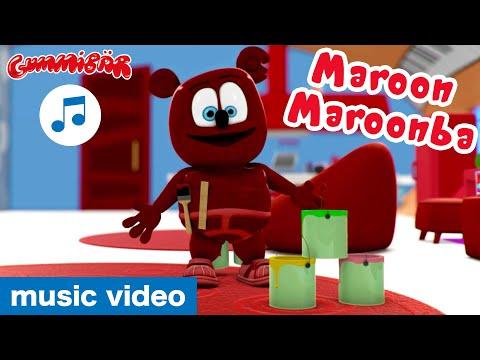 """Gummibär - """"Maroon Maroonba"""" Music Video - The Gummy Bear Show Song"""