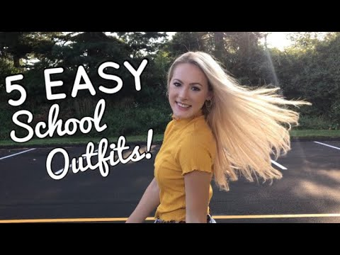 [VIDEO] - 5 EASY & CUTE BACK TO SCHOOL OUTFIT IDEAS! 8