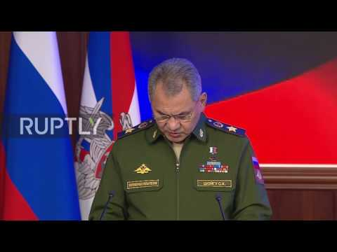 Russia: NATO intensifies drills aimed at Russia instead of fighting terrorism - Shoigu