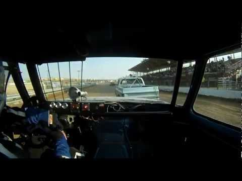 EL PASO COUNTY SPEEDWAY - DIRT TRACK RACING - #25 Hobby (Super) Truck (Heat Race)