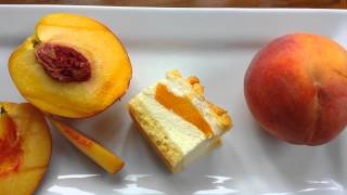 Peach Cheesecake - Gluten Free