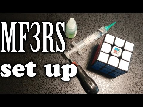 How to Set up MF3RS | Cube Maintenance