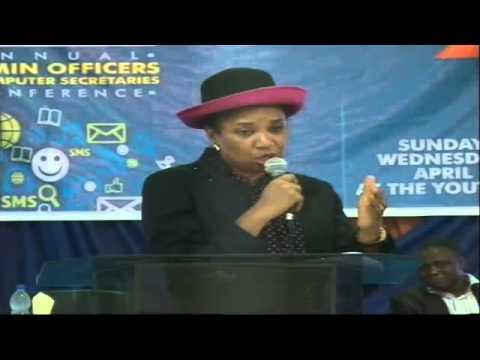 2015 Admin Conference (STRESS MANAGEMENT IN A WORKPLACE-Pst. Dr. (Mrs) IZE IYANMU.