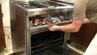 Thermador Stove Repair Simplified - Gas Burner Not Working Easy Fix. Model PRG304US