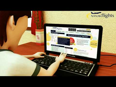 Book Cheap Flight Tickets to India and Worldwide with Nanak Flights