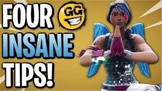 Fortnite: Four Advanced Tips & Tricks! Become A Better Player In Minutes | Season 7