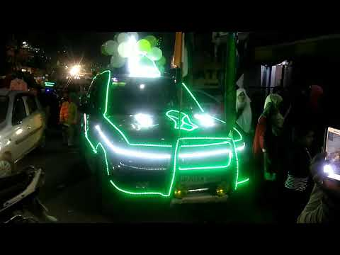 Lighting Car safari eid milaad Hum apne nabi pak se by hafiz tahir qadri attari thumbnail