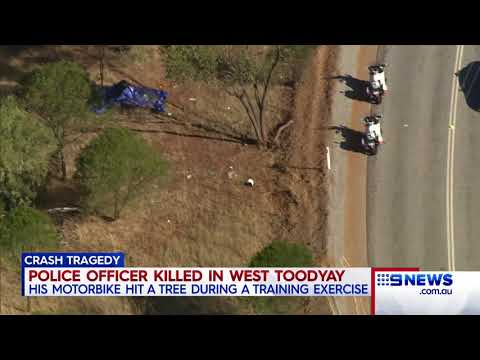 Police Officer Killed | 9 News Perth