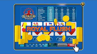 Joker Poker on DoubleU Casino!