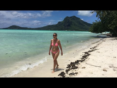 Tahiti Bora Bora Maupiti & Moorea 2017 4K