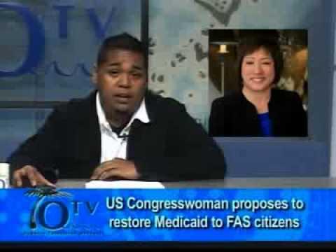 US Congresswoman Proposes To Restore Medicaid To FAS Citizens