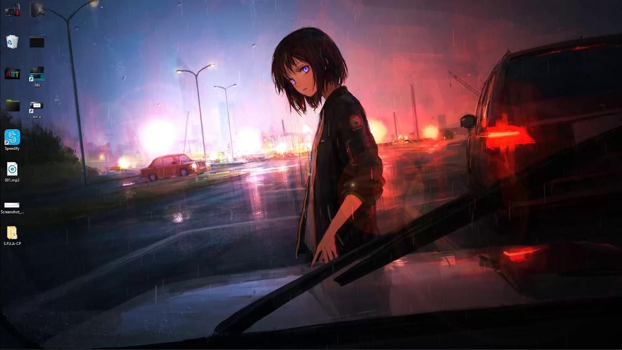 wallpaper engine Anime Rain free download - YouTube