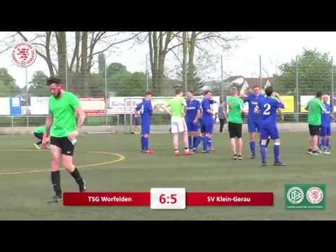 Amateurspiel des Monats April 2018: TSG Worfelden - SV Klein-Gerau