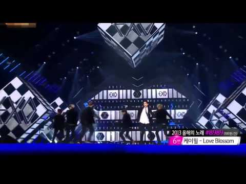 [13.12.27] EXO(엑소) - Growl (으르렁) (Remix ver.) @ GD 2013 [LIVE HD]