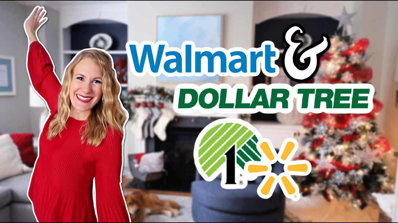 *NEW* DECORATE WITH @Do It On A Dime CHRISTMAS 2020! 🎄12 hacks from Walmart & Dollar Store!
