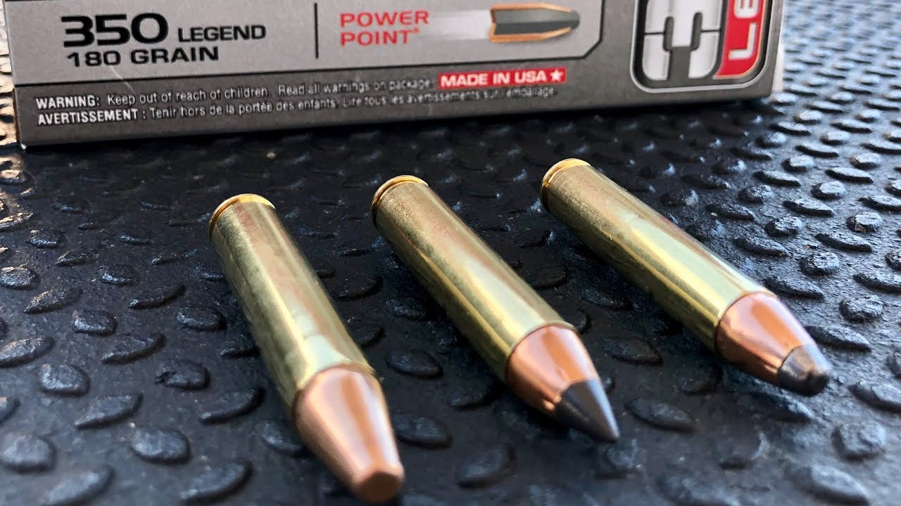 NEW Winchester 350 Legend Straight Wall Cartridge | Gould Brothers