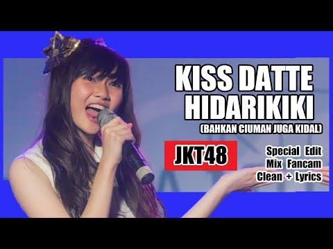 [Clean + Lirik] JKT48 - Kiss Datte Hidarikiki @ Andela n Rona