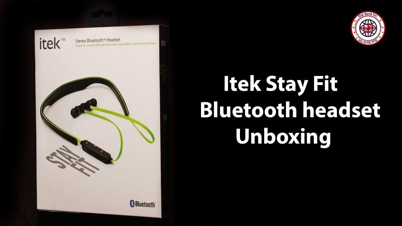c30e5ccd2c1 itek stereo Bluetooth headset boxing🤔✌😃 - YouTube