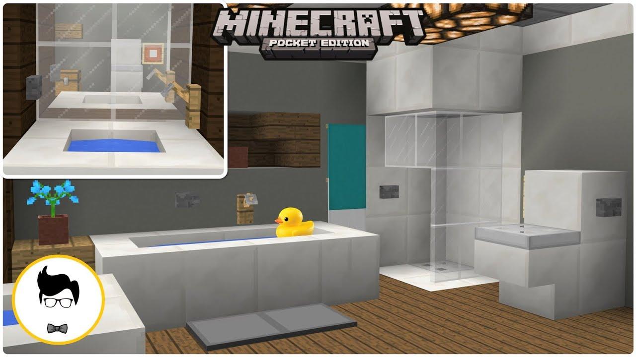 Minecraft Pe Working Redstone Bathroom Xbox Windows10 Switch You