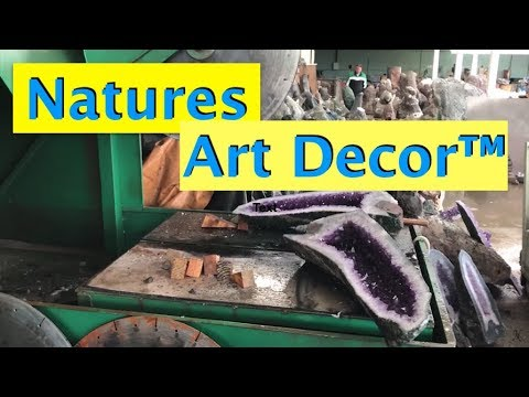 Natures Art Decor™️ Energizing With Amethyst, Agates At