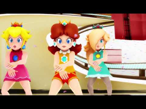 Candy Candy Candy MMD (Ultra Smash Peach, Daisy, and Rosalina)