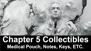 The Evil Within 2 - Chapter 5 Collectibles - Medical Pouch, Notes, Keys Etc