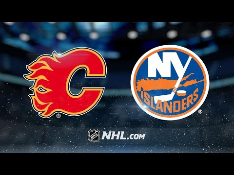 Tkachuk leads Flames' rally to defeat Islanders, 3-2