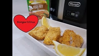 TONY CHACHERES FISH FRY FRIED FISH REVIEW AIR FRYER