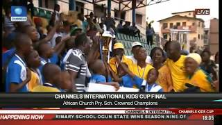 Channels Int'l Kids Cup: Presentation Of Medals,Cash Awards Pt 3 thumbnail