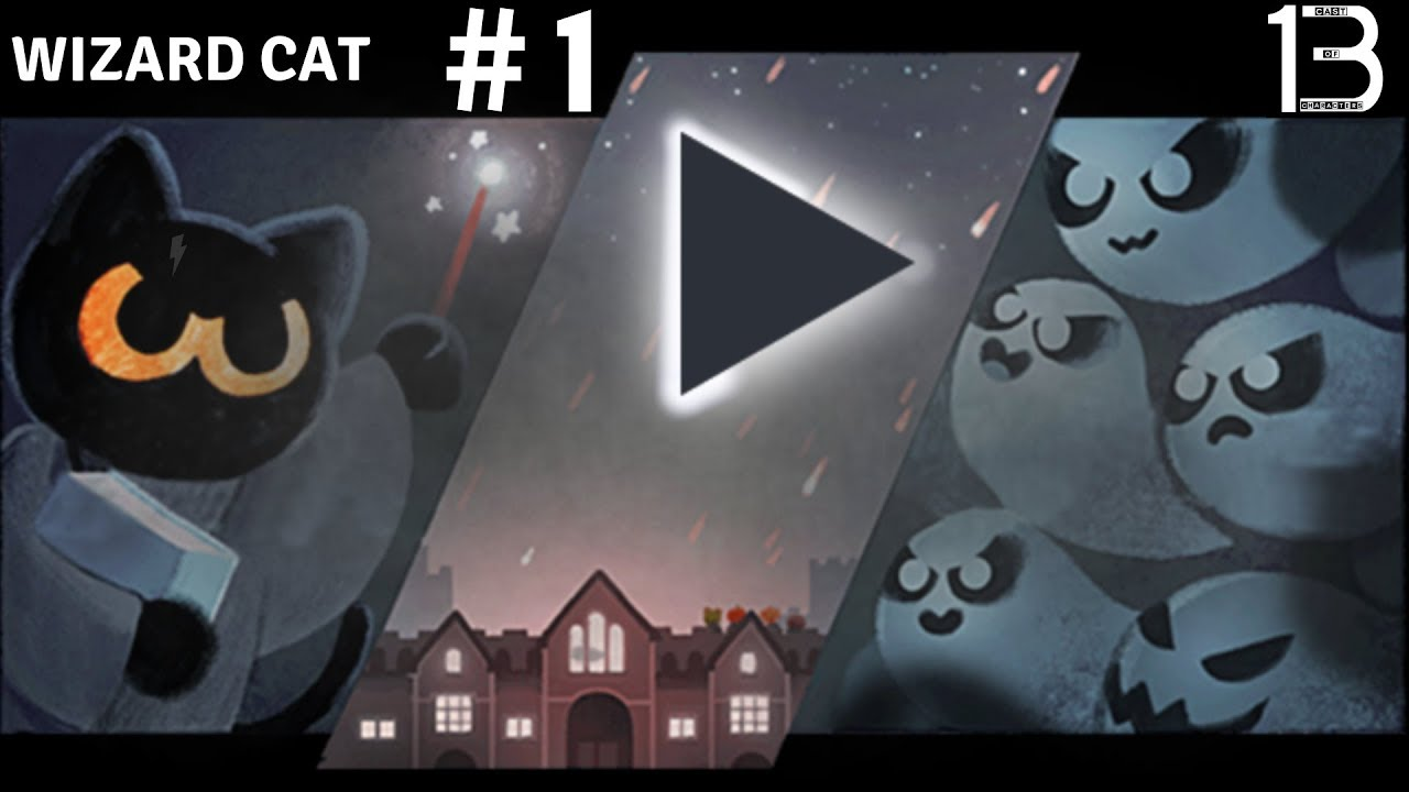 Google Doodle Magic Cat Halloween 2016 Full Game No Commentary