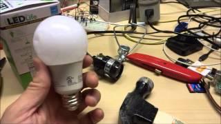Dollar Tree $1 LEDlife 6.5 watt LED Bulb review and teardown (40 watt equiv)