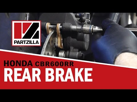 How To Change Rear Ke Pads On Honda Cbr 600rr