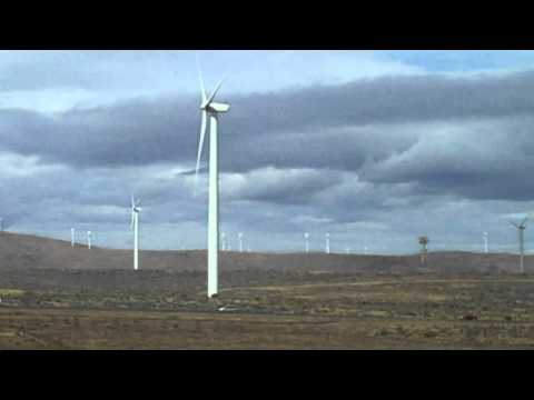 Wild Horse Wind Farm along I 90 8 30 14