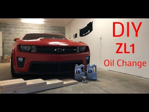 DIY |X| ZL1 Oil Change