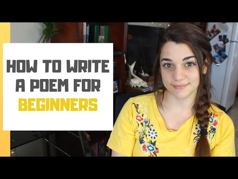 4 Steps To Write Poetry