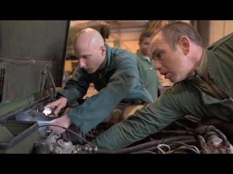 Chef d'atelier mécanique au 1er RIMa