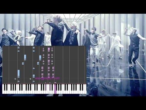EXO (엑소) - Overdose (Piano)