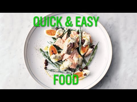 Jamie's Quick And Easy Food | Salmon Nicoise And Egg Fried Rice